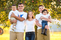 Fall Mini Sessions - The Plyler Family!